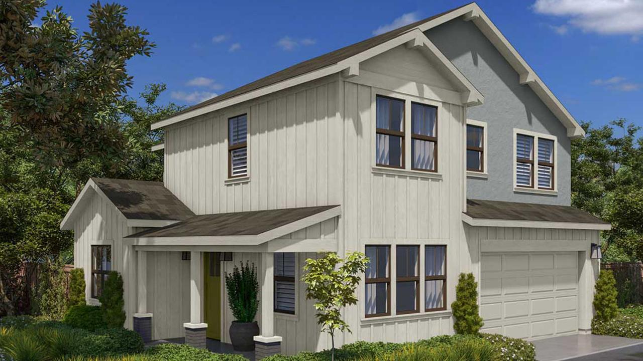 Steel Canyon Model Home Rendering